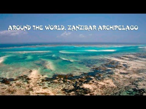 Остров Занзибар в Танзании с дрона